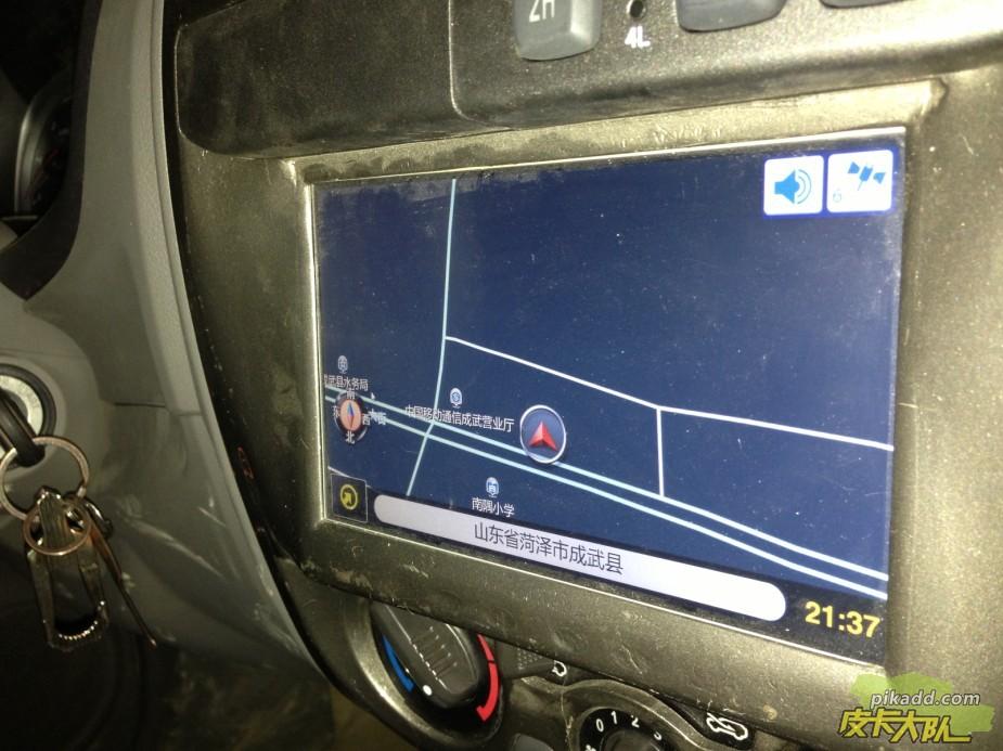 大成四驱风骏5 之 完整篇.车载电脑 行车记录 车贴
